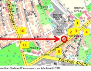 Zentrale Lage = Appartement-Bielefeld