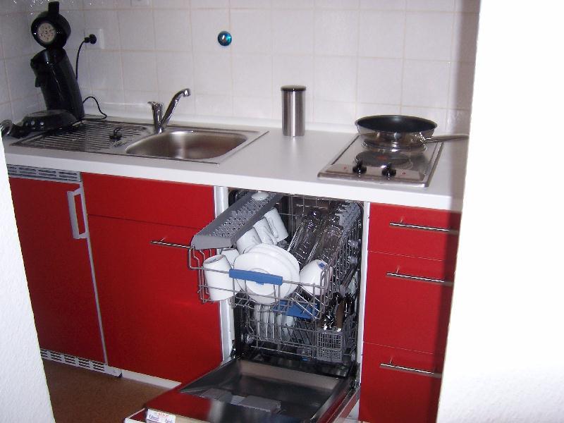 Appartement Bielefeld mit kompletter Küchen-Ausstattung und Kochgeschirr