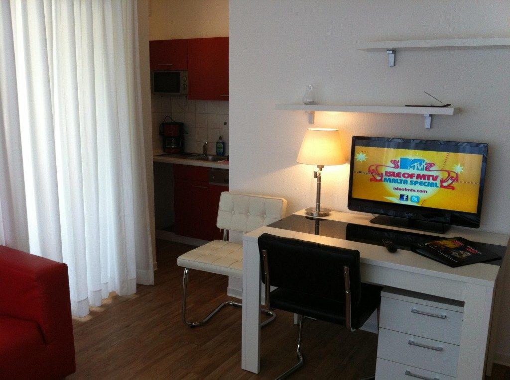 Die Wohnungen im Apartmenthaus-Bielefeld.de sind durchdacht eingerichtet und bieten ein angenehmes Raumgefühl.