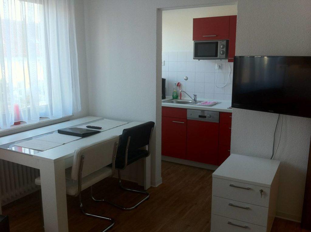 Alle Apartment verfügen über einen Schreibtisch