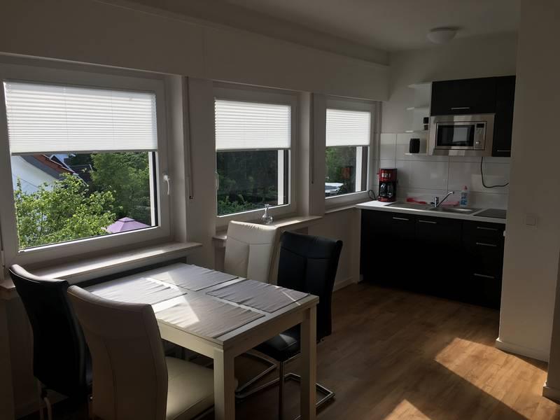 Die 1,5- und 2-Zimmer-Apartments sind im Apartmenthaus-Bielefeld vollständig eingerichtet.