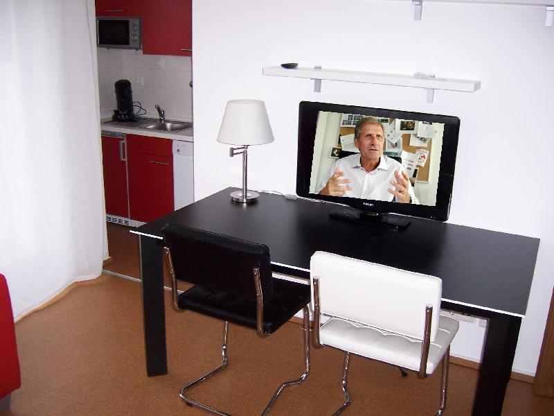 TV-Gerät und Internet ist in jeder Wohnung vorhanden