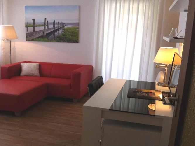 Alternative zum Hotel: Apartment mit großartiger Ausstattung.
