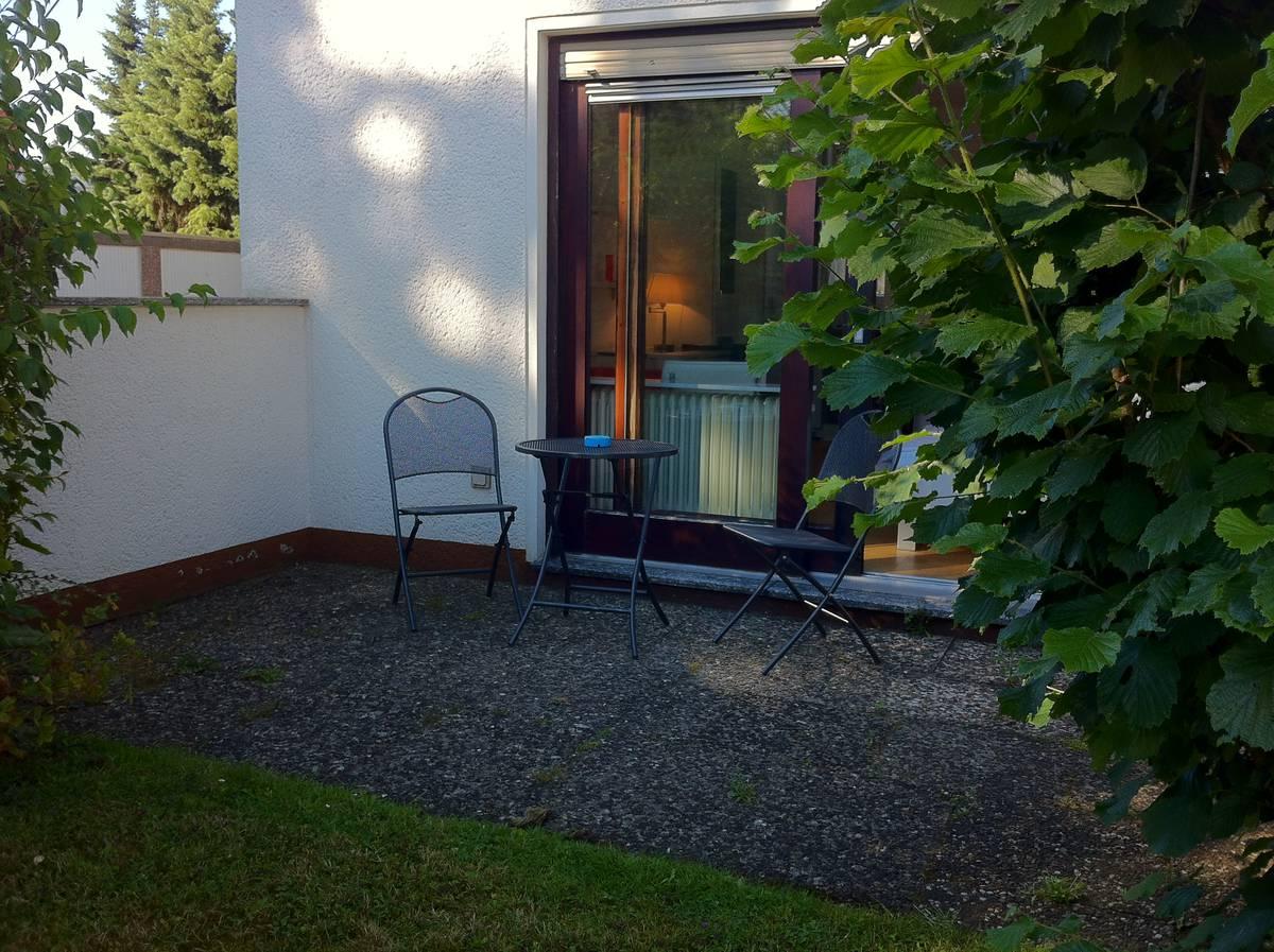 Fast alle Wohnungen verfügen über eine Terrasse oder Balkon