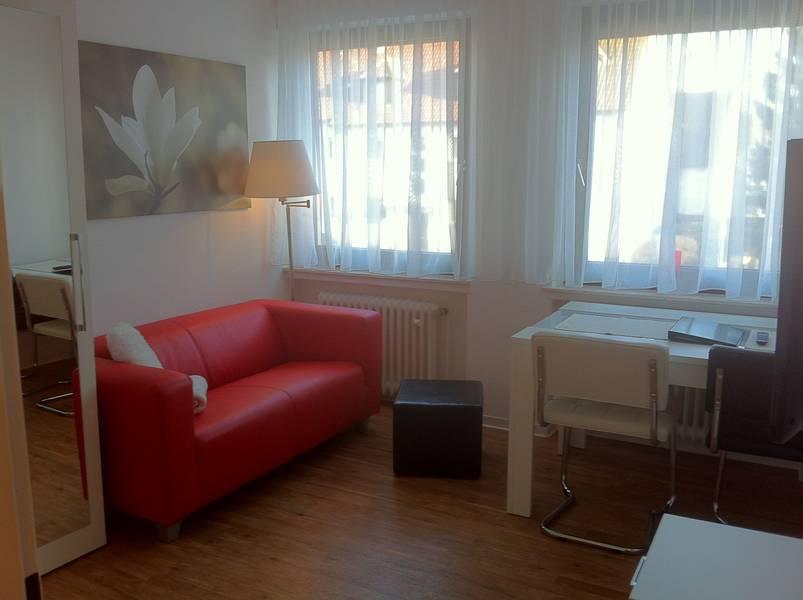 Wenn Sie in Isselhorst nicht im Hotel wohnen möchten, möbliertes Apartment in der Nähe
