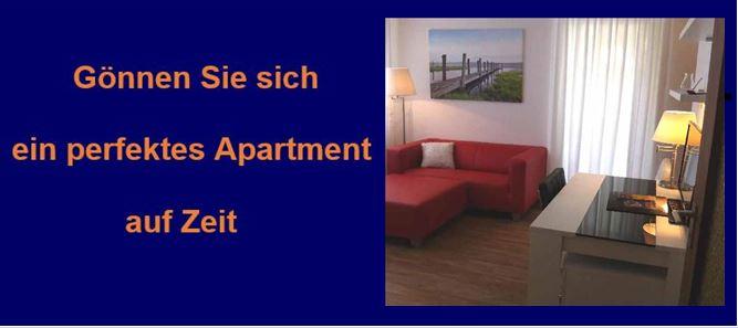 möblierte Apartment mit Service