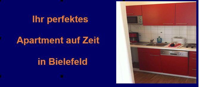 Bielefeld. Apartment / Wohnung preisgünstig auf Zeit mieten .