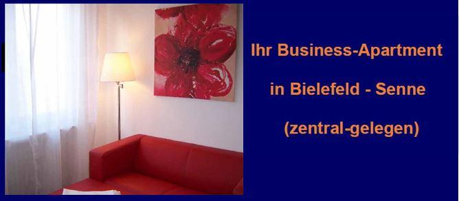 Apartment auf Zeit in Bielefeld-Senne