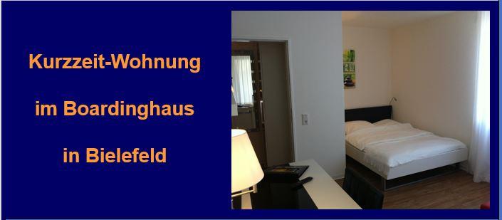 Boardinghaus Bielefeld bietet das perfekte Wohn-Angebot