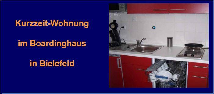 im Boardinghaus-Bielefeld ist jedes Apartment vollständig und perfekt ausgestattet