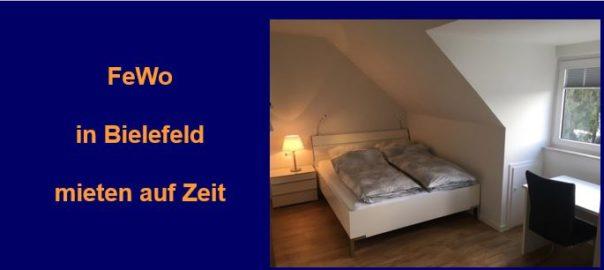 Preiswerte Komfort-Wohnungen in Bielefeld provisionsfrei auf Zeit mieten.